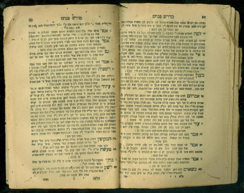 Midrash Pinhas 1876 Warsaw open pages